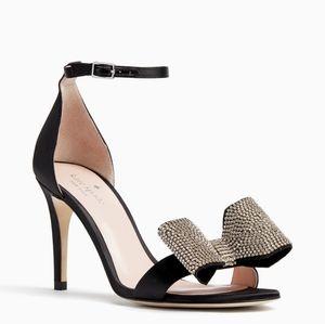 NEW Kate Spade Gweneth rhinestone bow heels